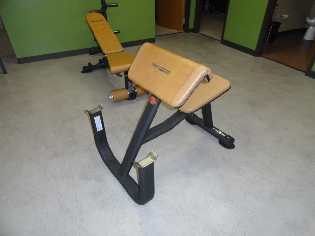 Midwest Used Fitness Equipment Tuff Stuff Ppf 706 Preacher Curl Bench