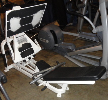 Used Elliptical For Sale >> Midwest Used Fitness Equipment :: Cybex V Squat Press (Plate loaded Leg Press)