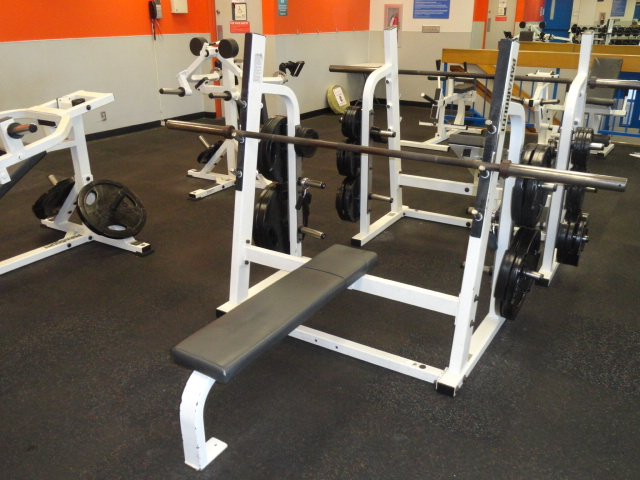 Midwest Used Fitness Equipment Paramount Flat Bench Press Pfw 7100