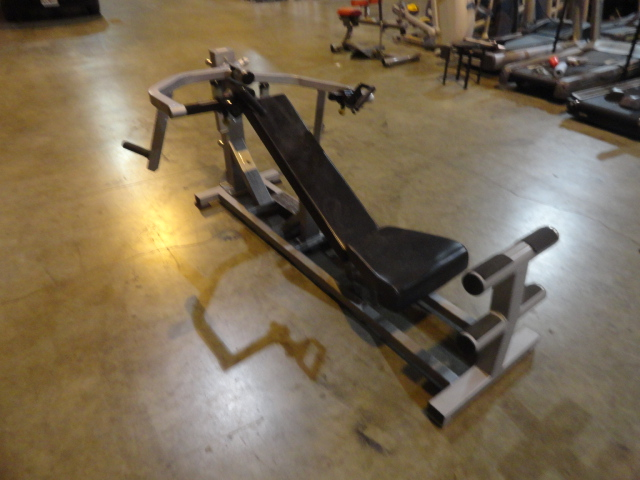 Midwest Used Fitness Equipment Paramount Total Chest Plate Loaded Flat And Incline Bench Fw8700
