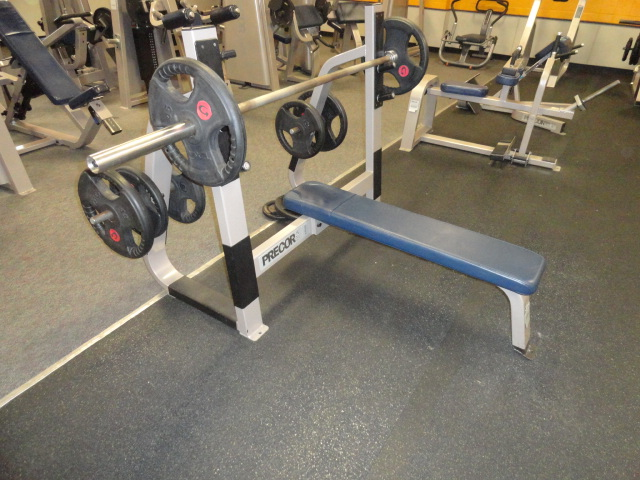 Used Bench Press With Weights Part - 30: Click For More Images