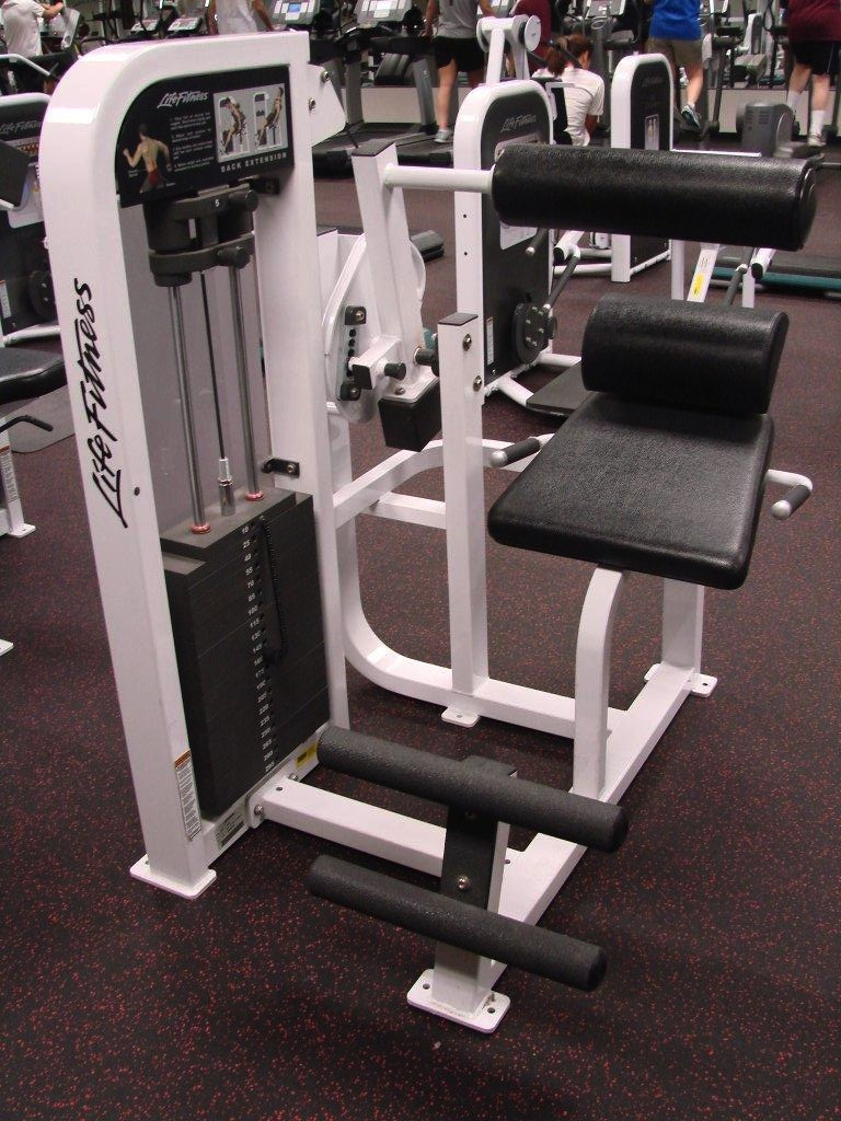 Midwest Used Fitness Equipment :: LIfe Fitness Pro 2 SE Back