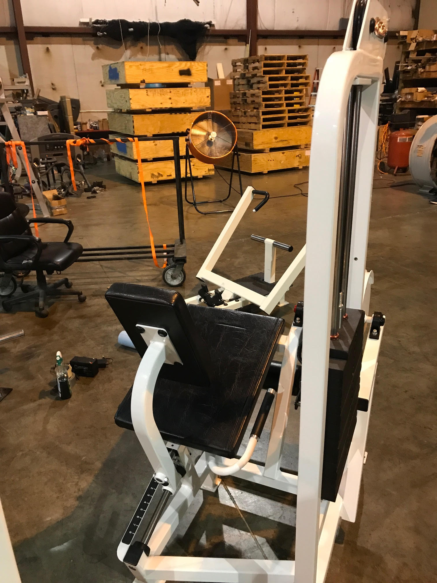 Midwest Used Fitness Equipment :: Life Fitness Pro 1 Leg